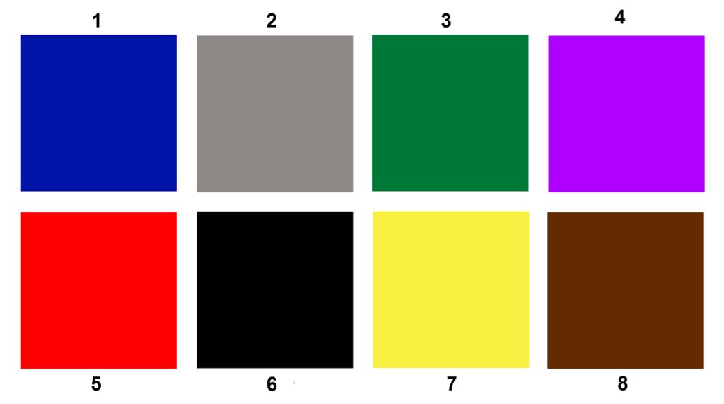 Проблеми клієнта виявлять кольори